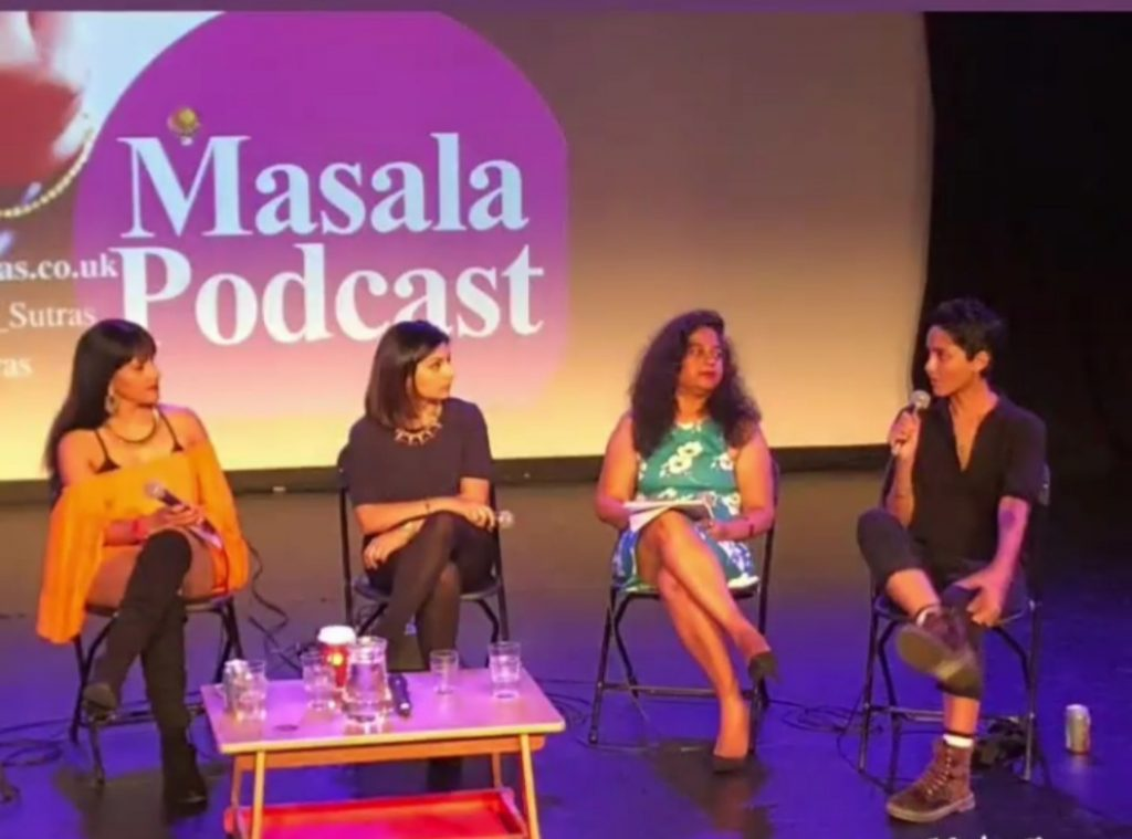 Masala Podcast Season 1, Panel discussion at launch