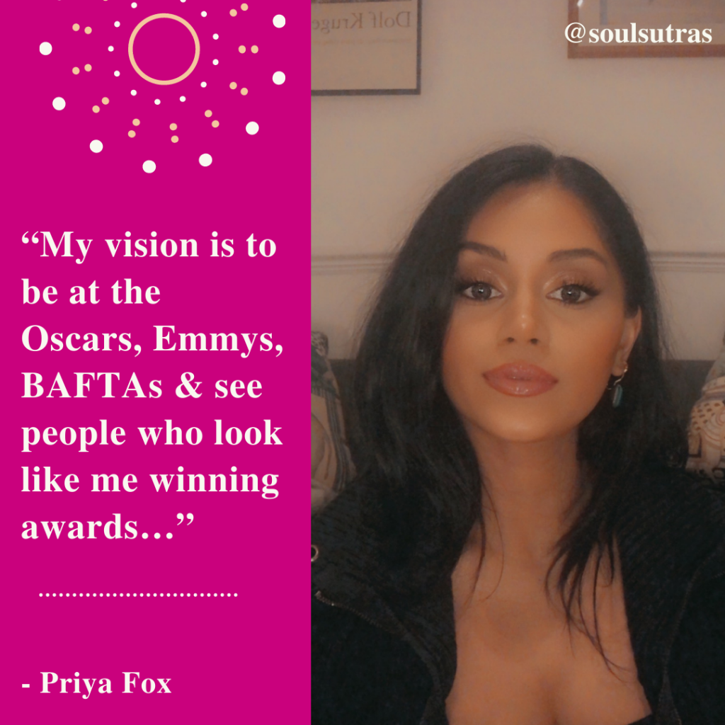 South Asian womxn inspirational Priya Fox